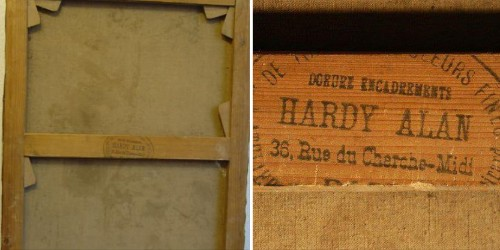 Hardy Alan Renoirs Materiallieferant in Paris